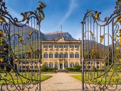 Una villa da Dolce Vita sul lago di Como