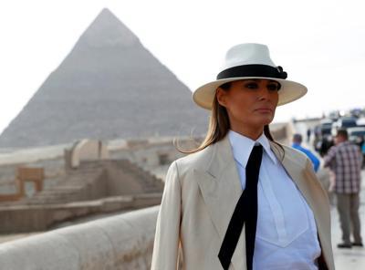 Melania dAfrica: lo stile colonial-chic della First Lady