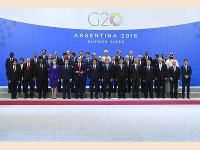 Immagini del G20 a Buenos Aires, Argentina