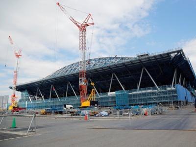 Olimpiadi, il cantiere di Tokyo 2020