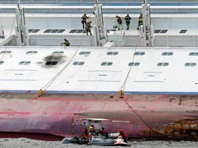 Costa Concordia, dal naufragio allo smantellamento