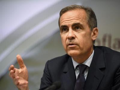 Il Governatore della banca dInghilterra Mark Carney