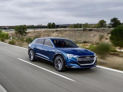 Audi e-tron quattro, il suv elettrico da 500 km di autonomia