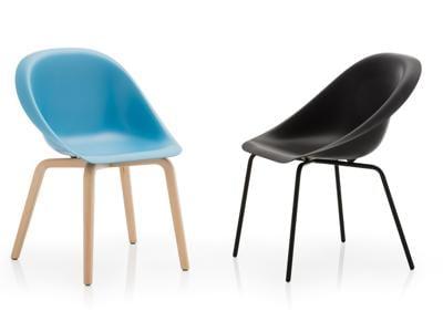 Sedie in materiale plastico: tradizione di design