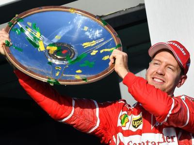 Formula 1, la vittoria di Vettel a Melbourne