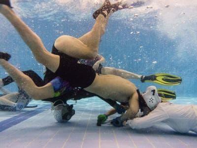 Hong Kong, successo  per lhockey subacqueo