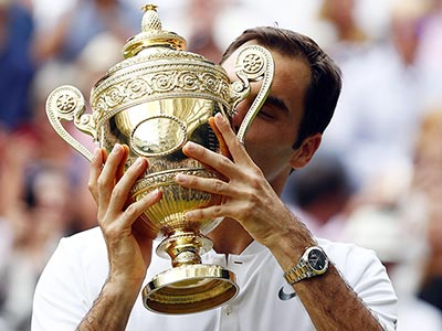 Le 8 fantastiche Wimbledon di Federer, una per una