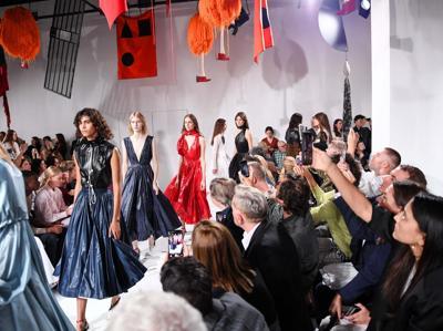 LAmerican beauty di  Calvin Klein per la PE 2018
