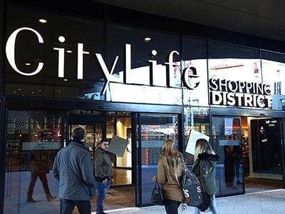 Lapertura dello Shopping District   CityLife a Milano