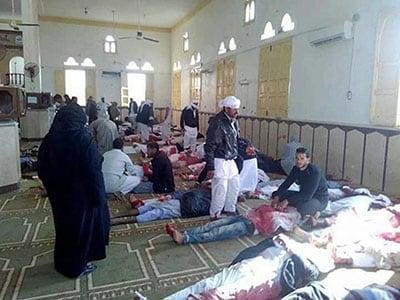 Attentato in moschea nel nord del Sinai