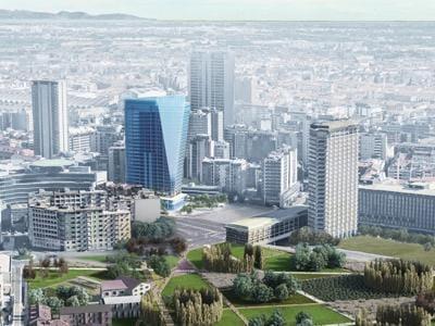Il nuovo grattacielo a Milano Porta Nuova