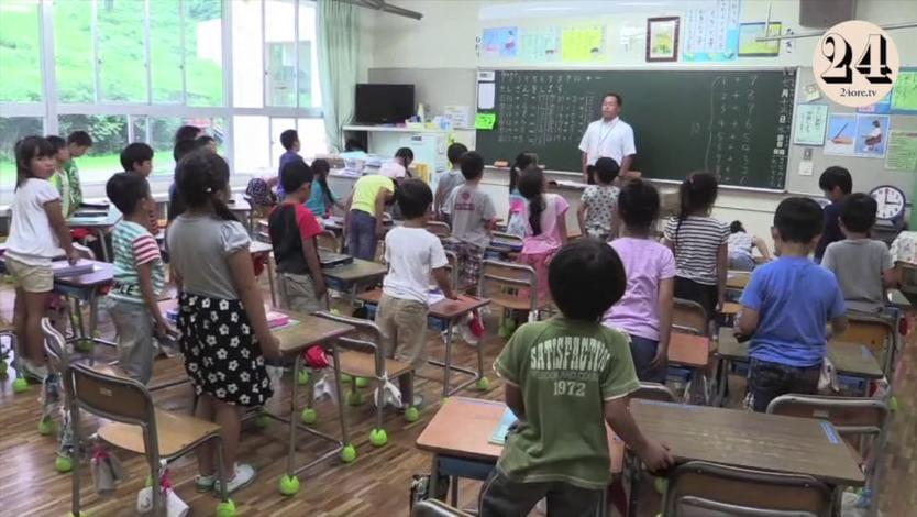 Il segreto della scuola giapponese i bambini bidello - Immagini in francese per bambini ...