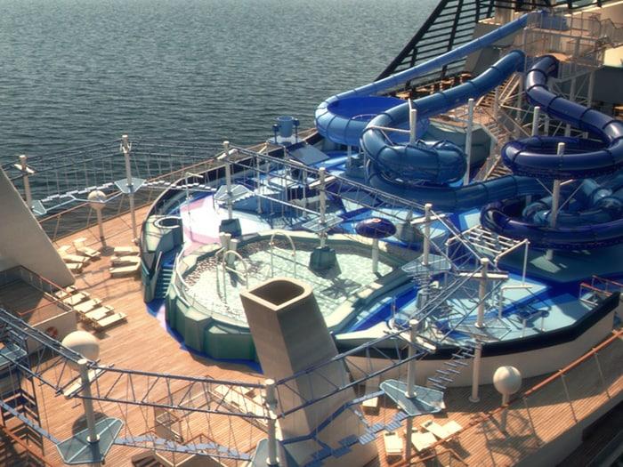 Msc meraviglia gli interni della nave da crociera il for Msc meraviglia foto