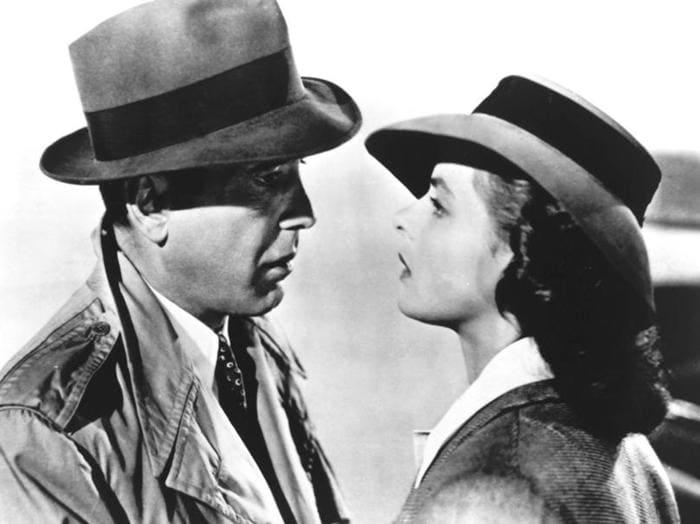 "Humprey Bogart e Ingrid Bergman in ""Casablanca"" (1940) 1 17 ... 3cb8debc96f9"