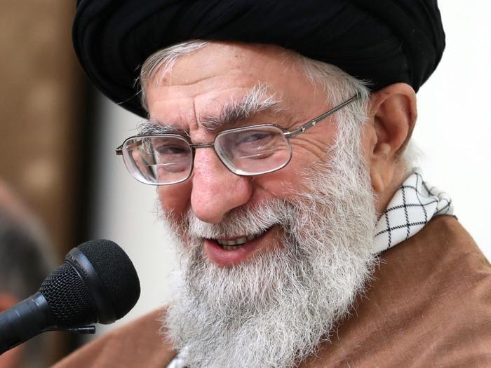 2 January 2018. Teheran, Ayatollah Ali Khamenei (AFP)