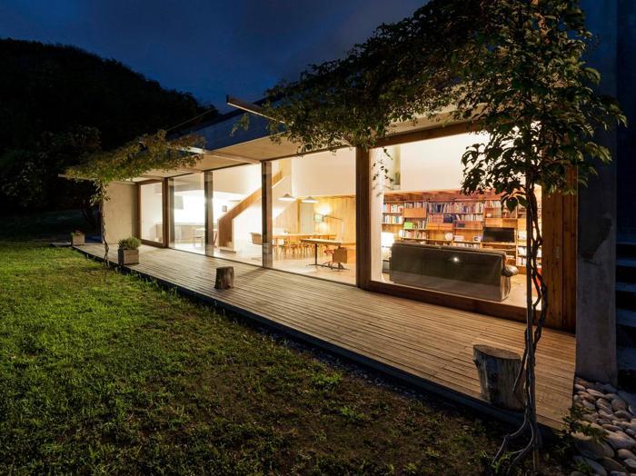 Case di legno e di acciaio sostenibili e di design il for Case in legno e acciaio
