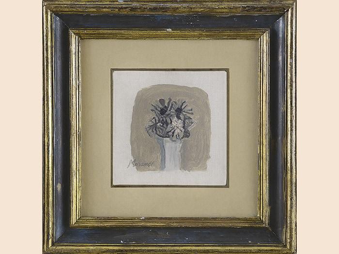 """3762852258 Meetng Art una piccola opera del 1962 """"Fiori"""" di Giorgio Morandi, olio su"""
