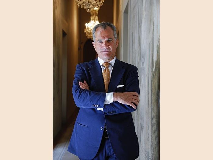 Leonardo Ferragamo, presidente Lungarno Collection. (Credits Miki Nakano)