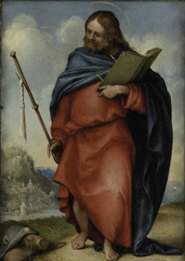 ITINERARI 18. Lorenzo Lotto. San Giacomo Maggiore, 1512 - 1513. Olio su tavola, 20 x 15 cm. Recaanti, Museo Civico. Villa Colloredo Mels