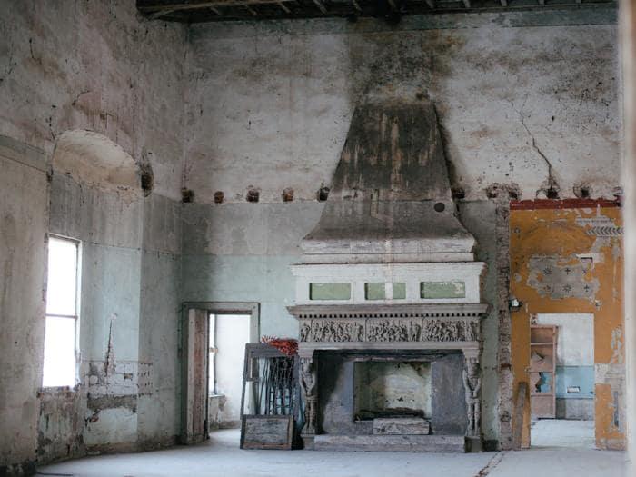 Castello di Melegnano - Sala del Camino della Battaglia di Siena © Fotografia di Adriano Carafòli