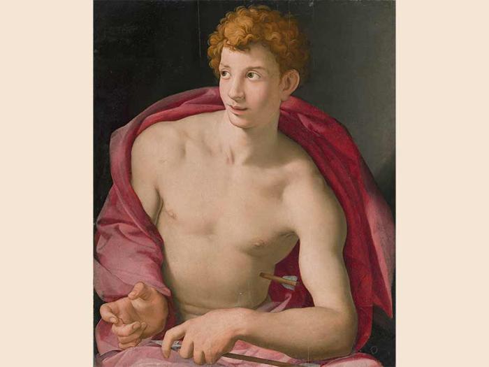 Agnolo Bronzino, Saint Sebastian