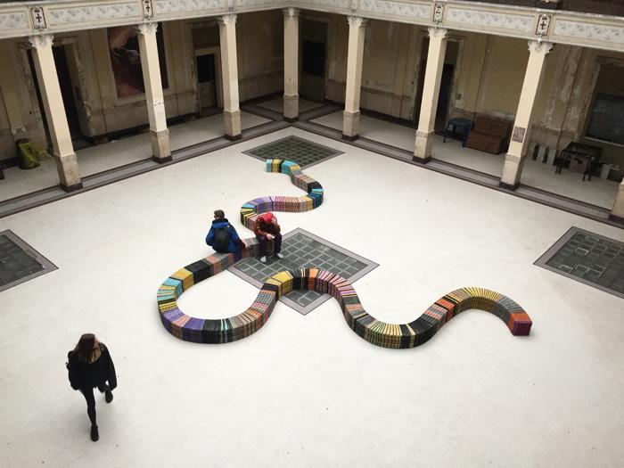 Snake, Campidarte, Stecca 3.0
