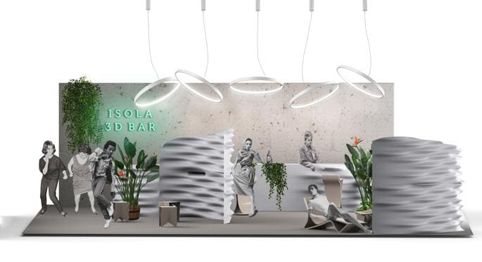 The 3D Bar, Caracol Studio, Stecca 3.0