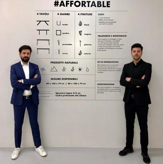 #AfforTable, Dario Brivio e Francesco Cazzaniga, studio Apeiron