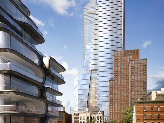 10 Hudson Yards, Viewed from the High Line - courtesy of Related-Oxford
