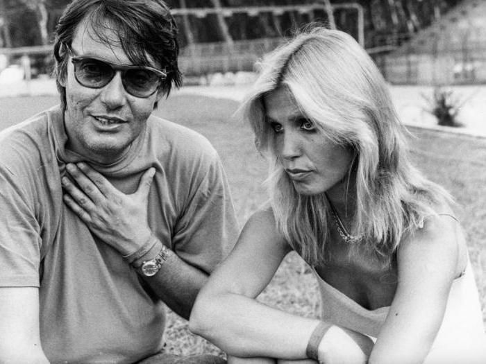 Fabrizio De Andre con sua moglie Dori Ghezzi, nel 1980 (Agf)