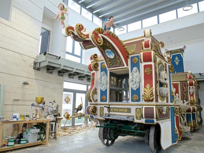 Matera, fabbrica carro trionfale festa bruna © FAI - Fondo Ambiente Italiano