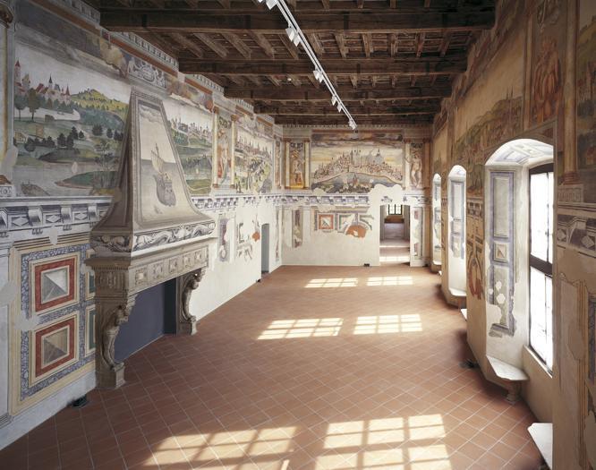Castello di Melegnano (MI), Sala Imperatore © Fotografia di Adriano Carafòli
