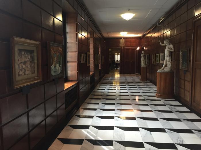 Milano, Palazzo Isimbardi, Corridoio della Presidenza © Città metropolitana di Milano