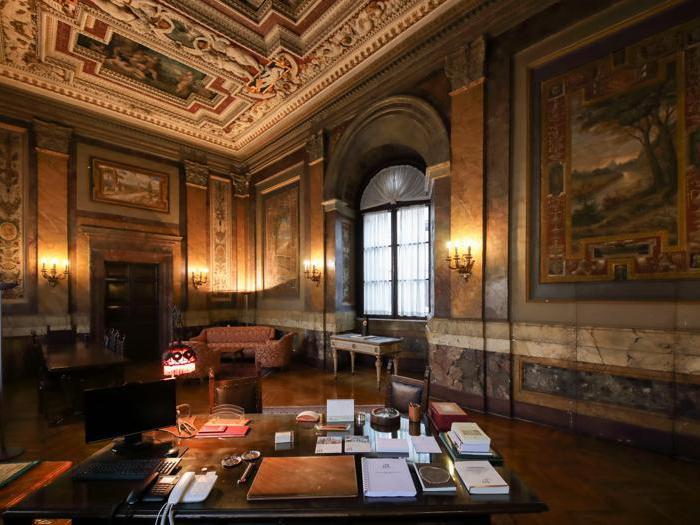 Roma, Palazzo Firenze - Foto Giovanni Formosa © FAI - Fondo Ambiente Italiano