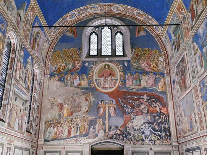 La nuova illuminazione della Cappella degli Scrovegni, Padova