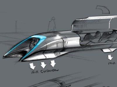 Hyperloop  e il sistema di sospensioni Ales Tech