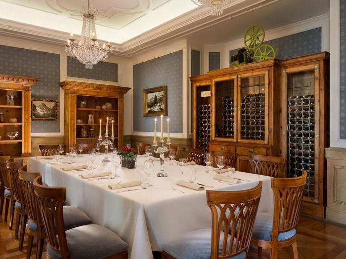Sala da pranzo privata