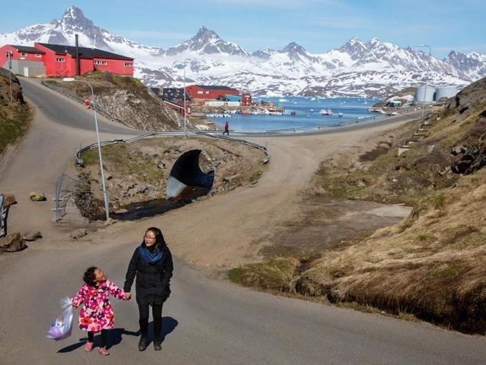 Tasiilaq, Groenlandia. (REUTERS/Lucas Jackson)