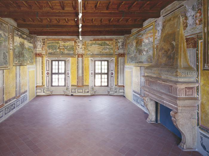 Castello di Melegnano (Milano), Sala delle Battaglie