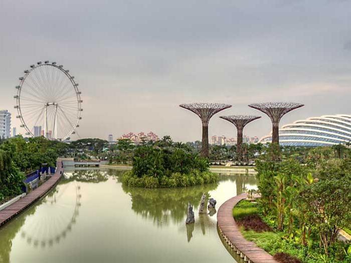A singapore nei giardini del futuro il sole 24 ore for Laghetti nei giardini