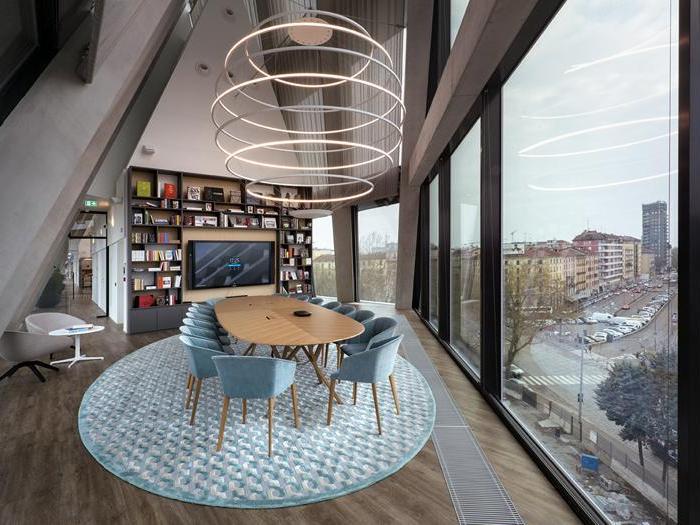 Metri Quadri Ufficio Persona : Uffici milanesi 1. la nuova sede di microsoft