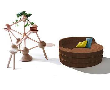 Il design internazionale di berlino al fuorisalone il for Arredamento casa uomo single