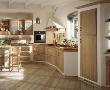 In toscana il cuore delle cucine in muratura rustiche ed - Cucine rustiche toscana ...