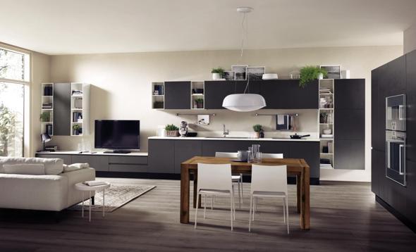 Arredare cucina e soggiorno con spazi e moduli intercambiabili - Il ...