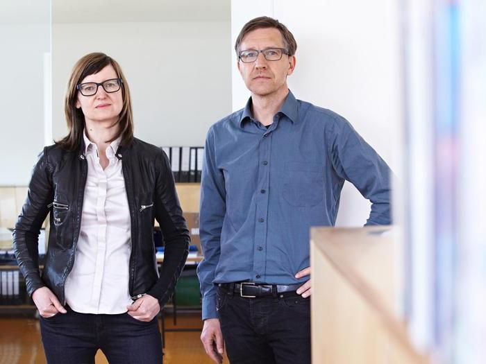 Gli architetti Angelika Bachmann und Helmut Stifter