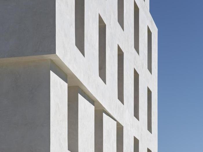 Edificio 2226 a Lustenau, in Austria, vincitore del Grand Prize  e vincitore nella categoria Applicazioni innovative   - Progetto  Dietmar Eberle - Foto:  Eduard Hueber