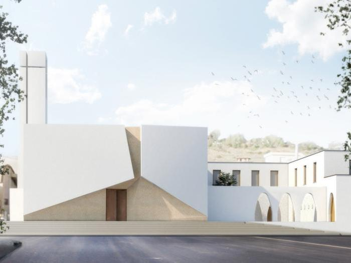 Ufficio Progetti Architetti Associati : Ad agrigento la chiesa del villaggio mosè rinasce con il restyling