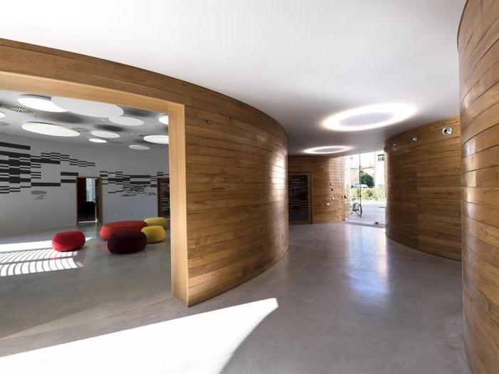Casa della musica a Pieve di Cento (Bo) (completata) - Progetto: Mario Cucinella, Marco Dell'Agli (coordinamento progetto) - Foto: Moreno Maggi