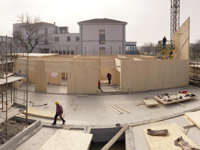 Centro socio-sanitario a San Felice sul Panaro (Mo) (in corso di completamento) - Progetto: Mario Cucinella, Marco Dell'Agli (coordinamento progetto) - Foto: MCA Archive