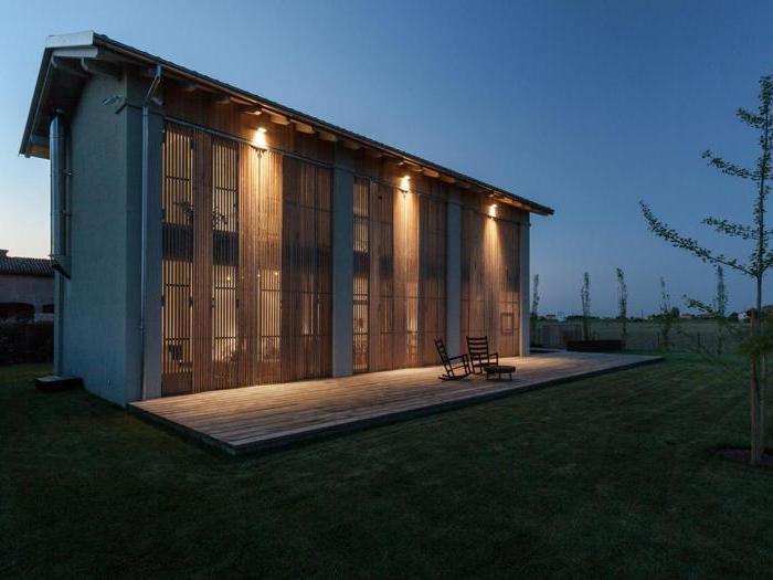Illuminazione esterna casa di campagna illuminazione per esterni